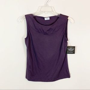 Akris Punto • Purple Lightweight Sleeveless Top